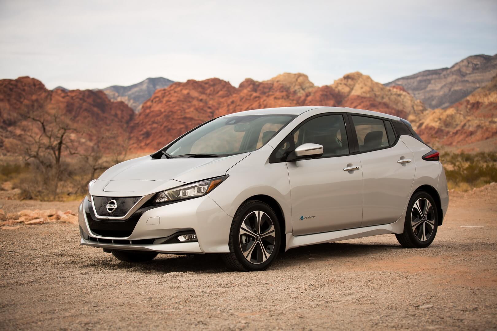 Электромобиль Nissan Leaf e+ 2019 с батареей 62 кВт⋅ч
