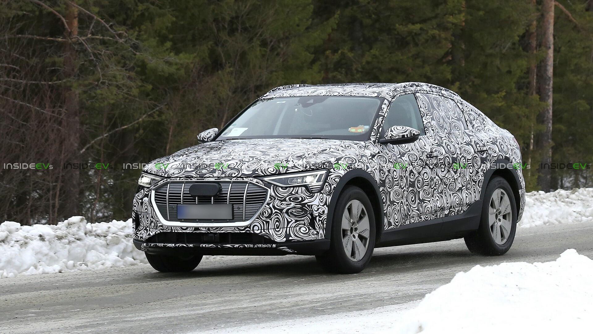 Audi e-tron Sportback проходит зимние тесты