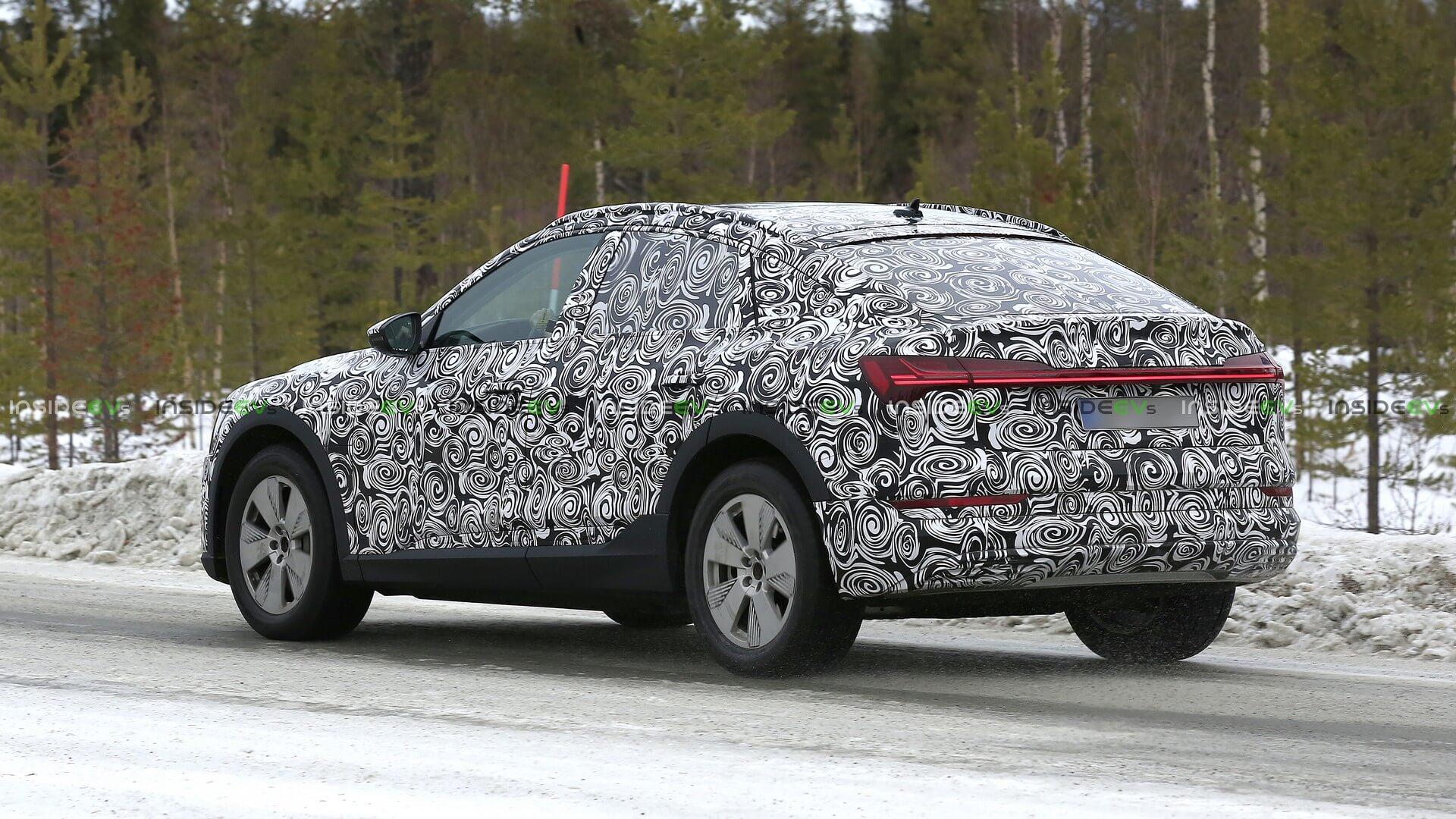 Электрокроссовер Audi e-tron Sportback