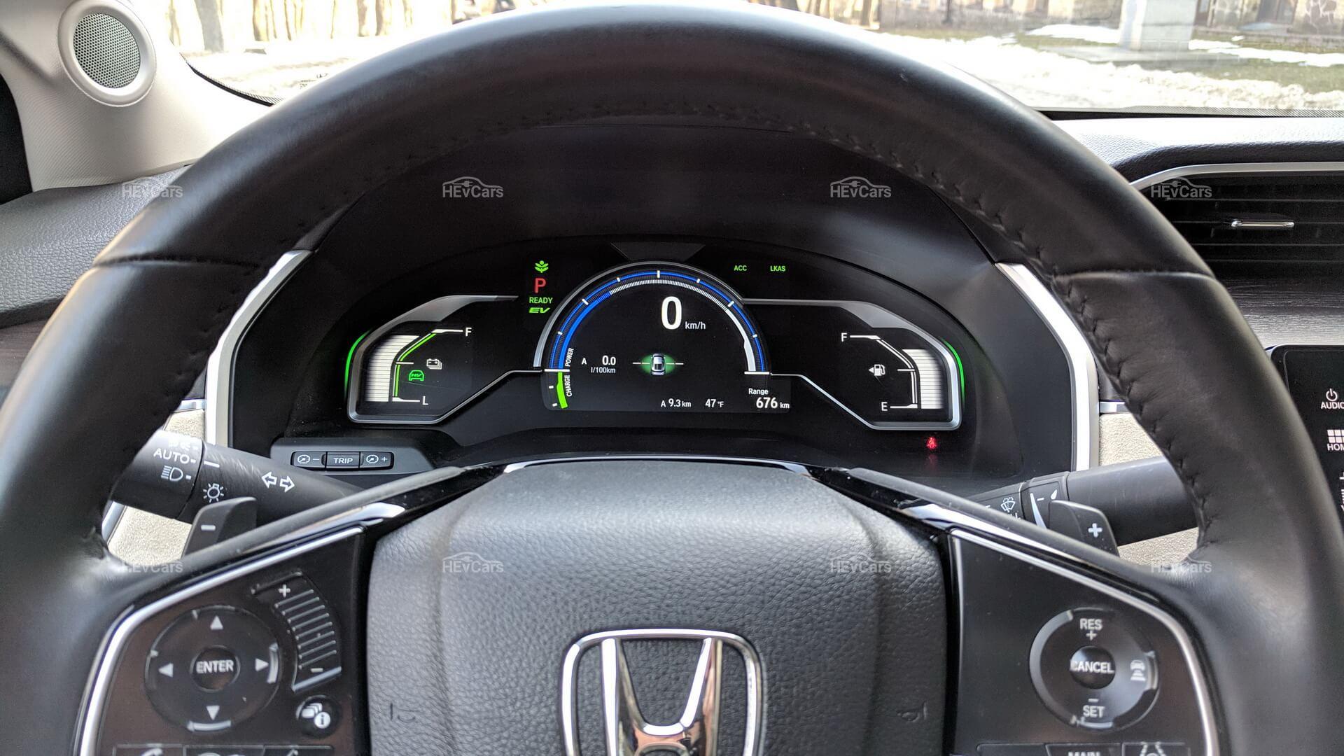 Руль и приборная панель Honda Clarity PHEV