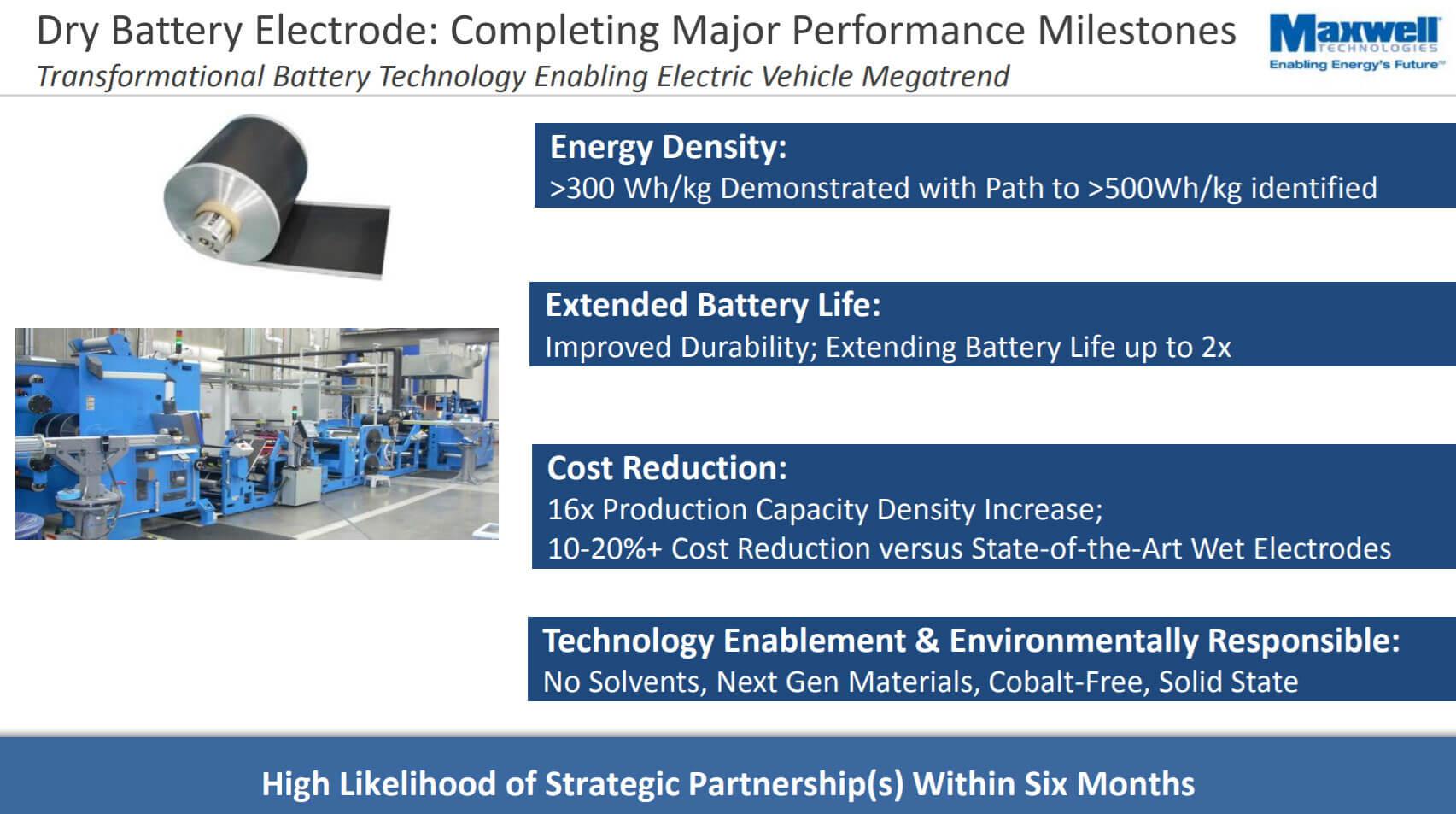 Maxwell производит ультраконденсаторы и компоненты для аккумуляторных батарей