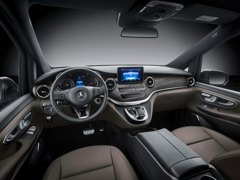 Интерьер Mercedes-Benz MPV