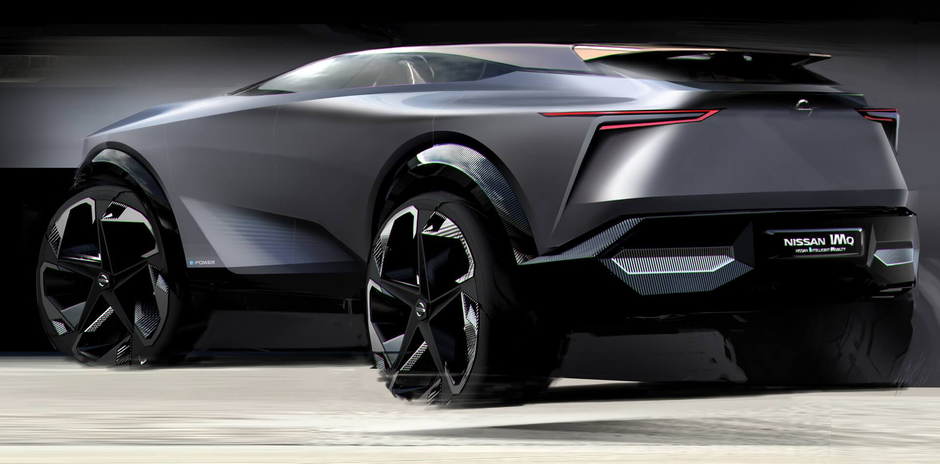 Nissan дразнит концепцией электрокроссовера IMQ