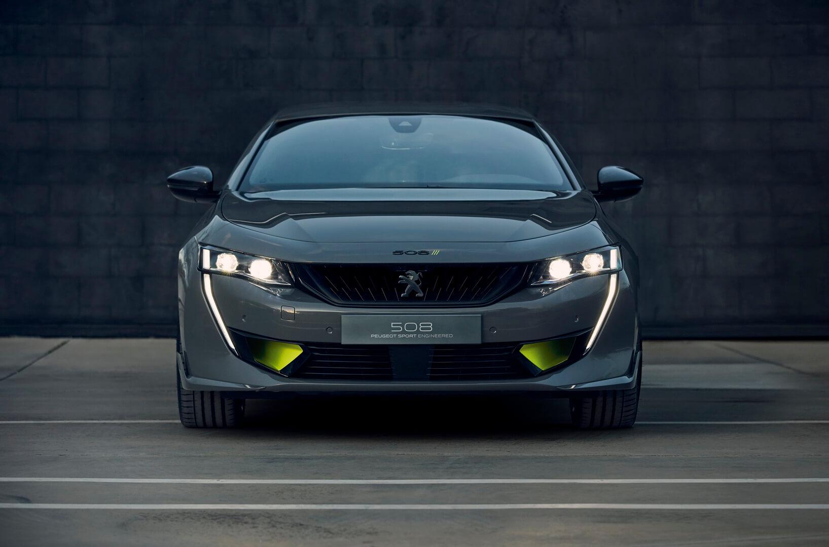 Плагин-гибридный концепт-кар Peugeot 508 Sport Engineered