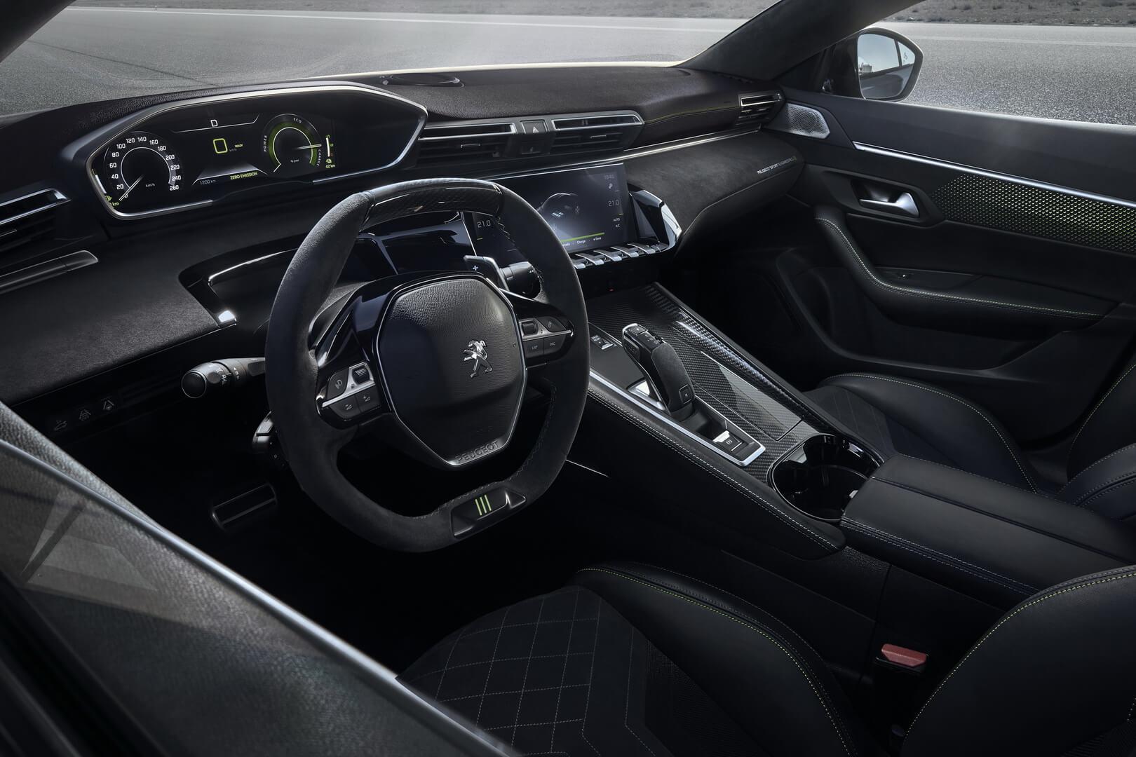 Салон Peugeot 508 Sport Engineered PHEV