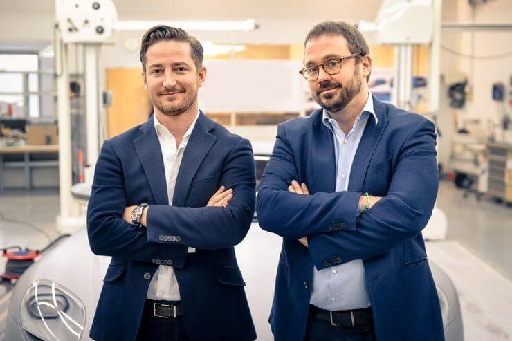 Piëch Реа Старк Райчич (слева) и Anton Piëch
