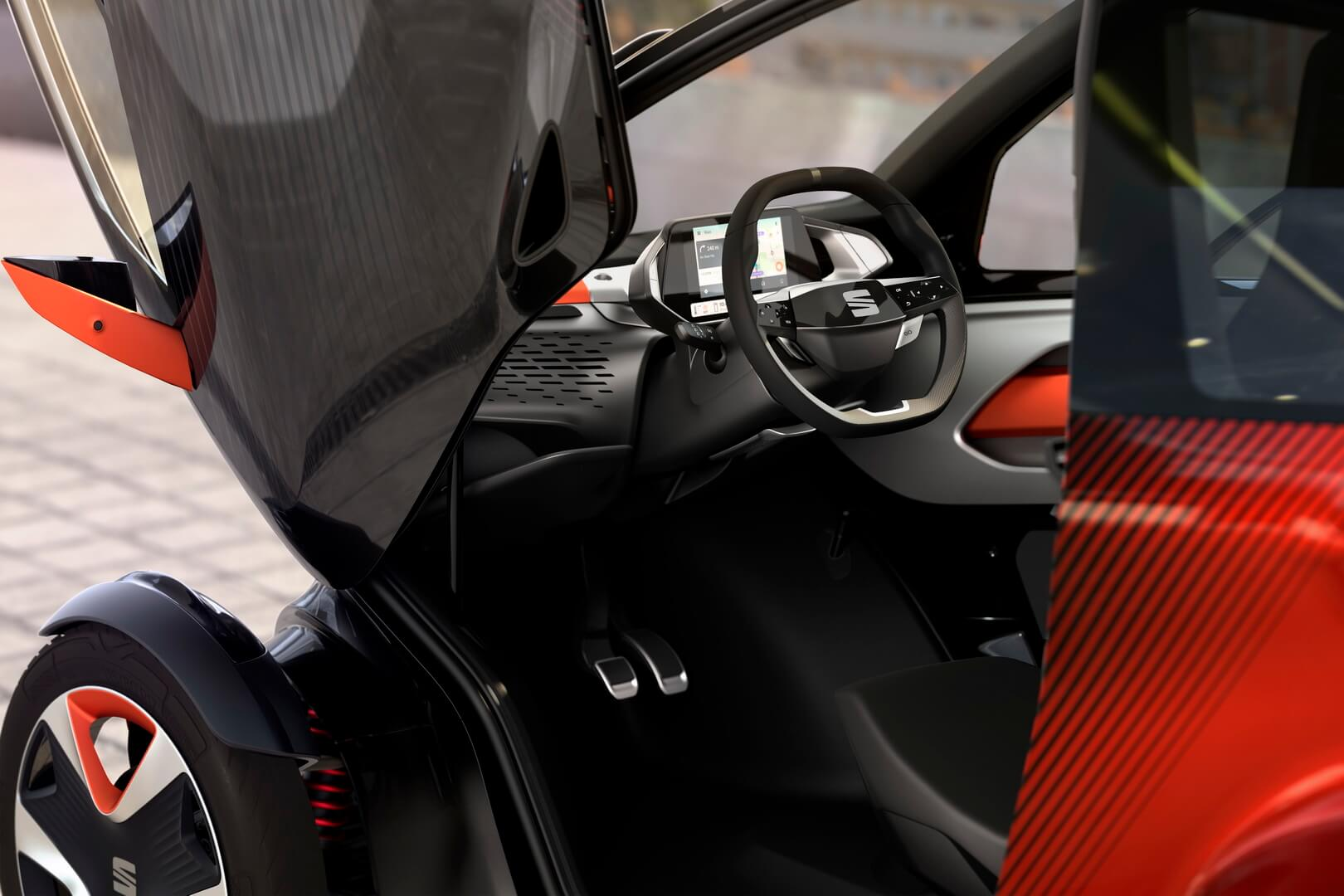 Интерьер SEAT Minimó