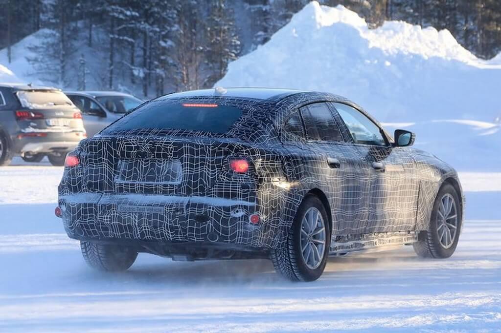 Шпионские снимки электромобиля BMW i4