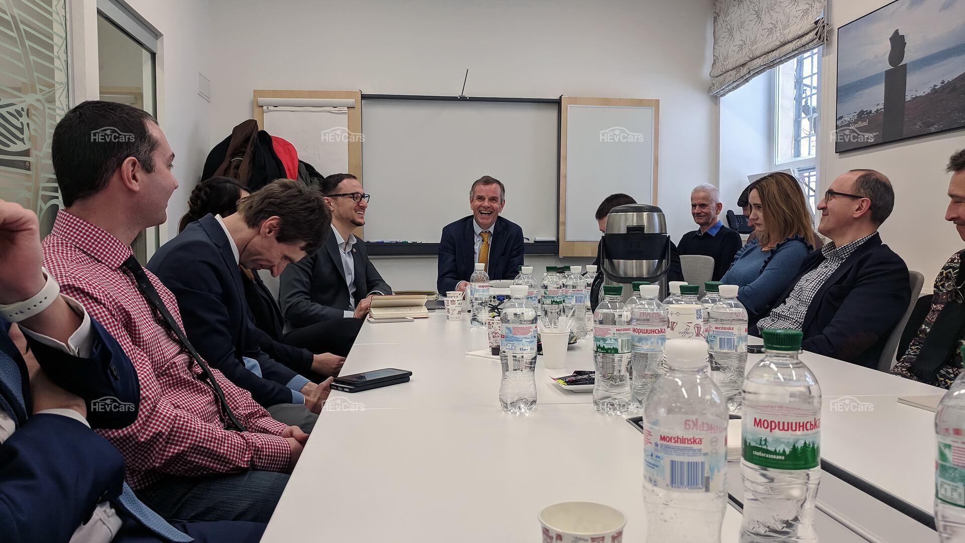 Встреча сгосподином Послом Норвегии Уле Терье Хорпестадом