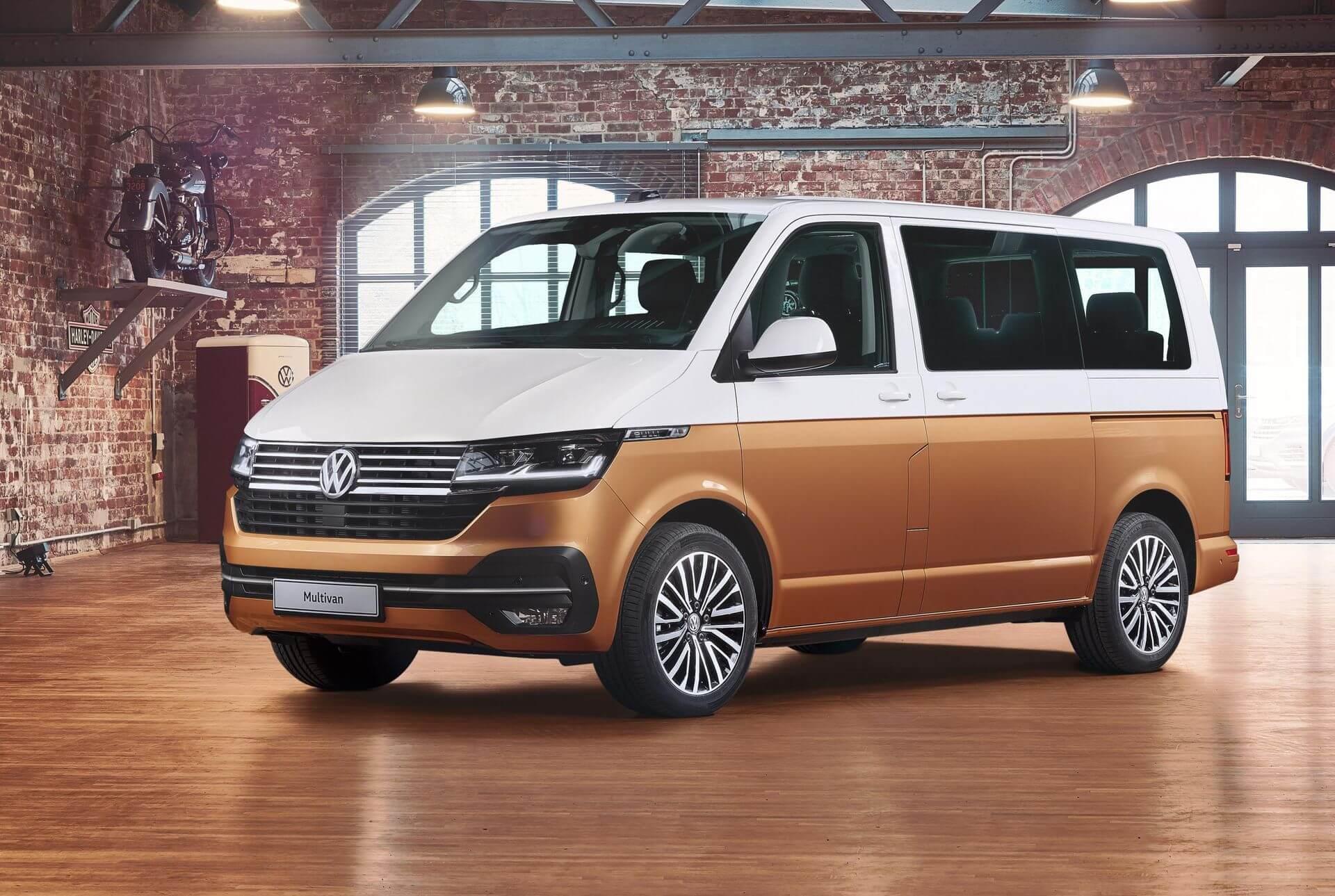 VW Multivan получил электрическую версию