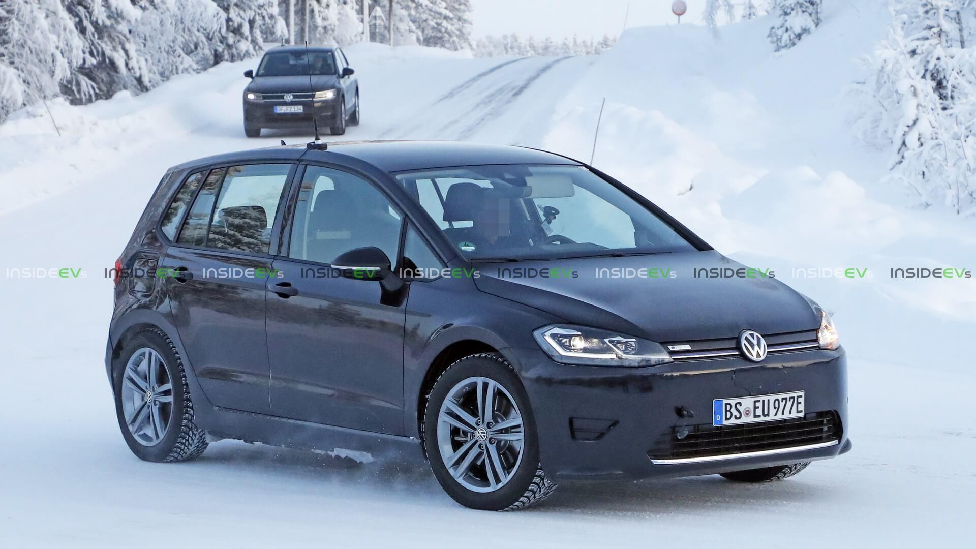Тестовый электромобиль на базе Volkswagen Golf Sportsvan