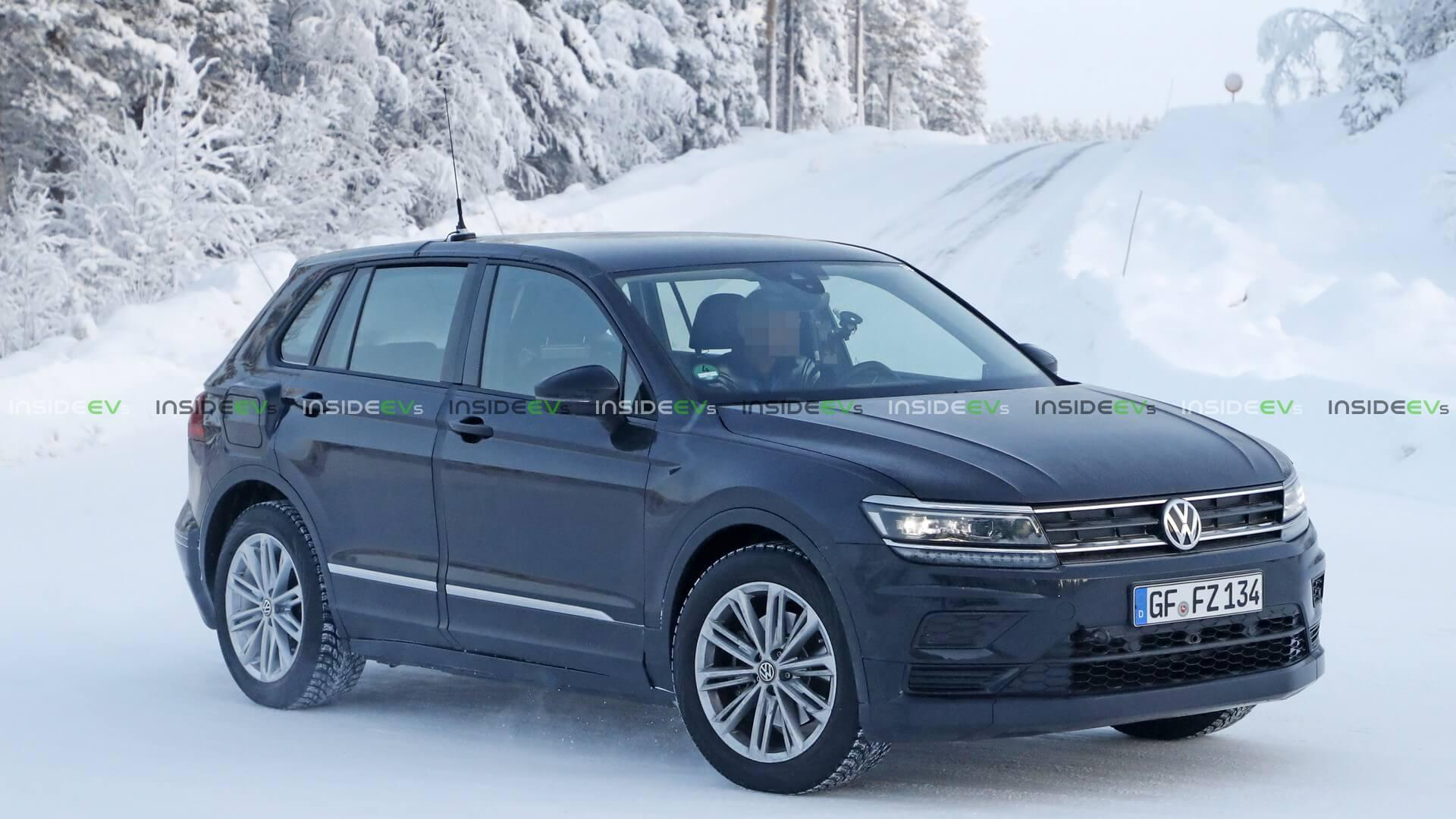 Электрический прототип набазе Volkswagen Tiguan