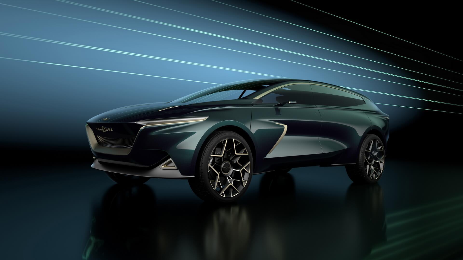 Электрический концепт Lagonda All-Terrain