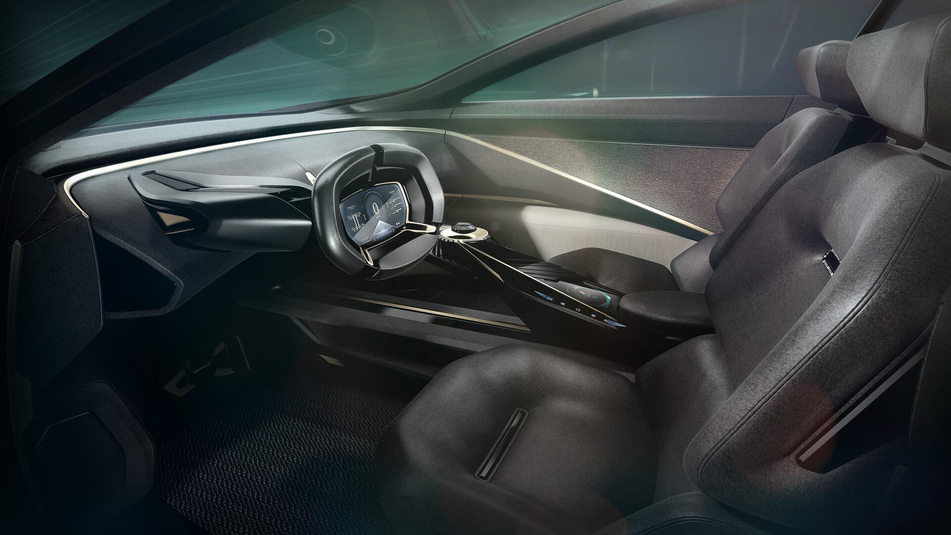 Салон электроконцепта Lagonda All-Terrain - фото 3