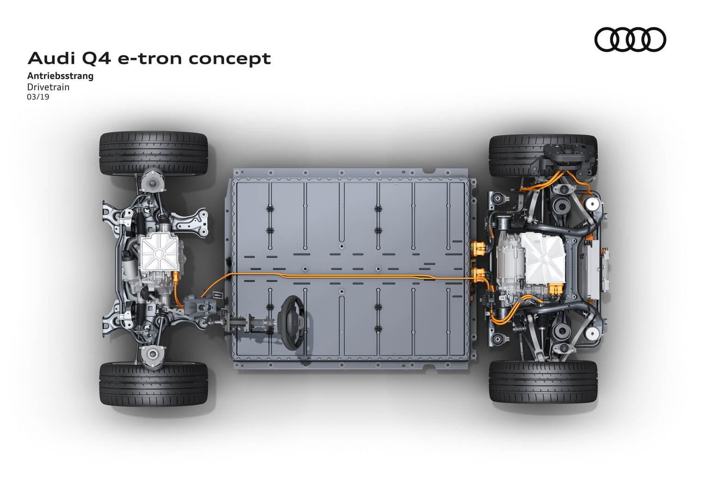Модульная платформа MEB от Volkswagen