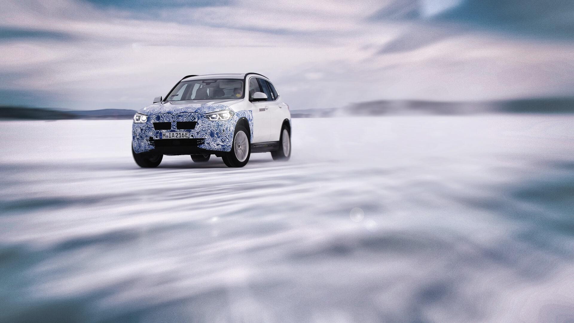 Электрокроссовер BMW iX3