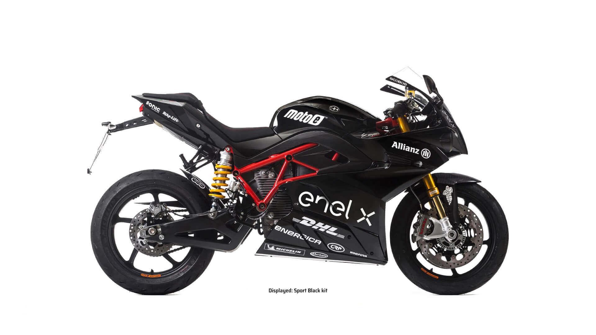 Электромотоцикл для гонок Energica Ego