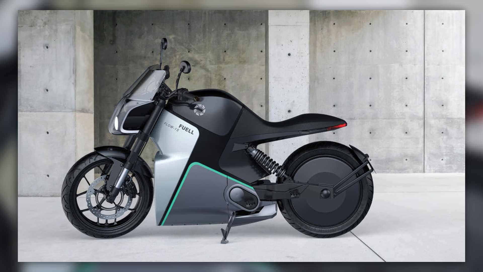 Электрический мотоцикл Flow