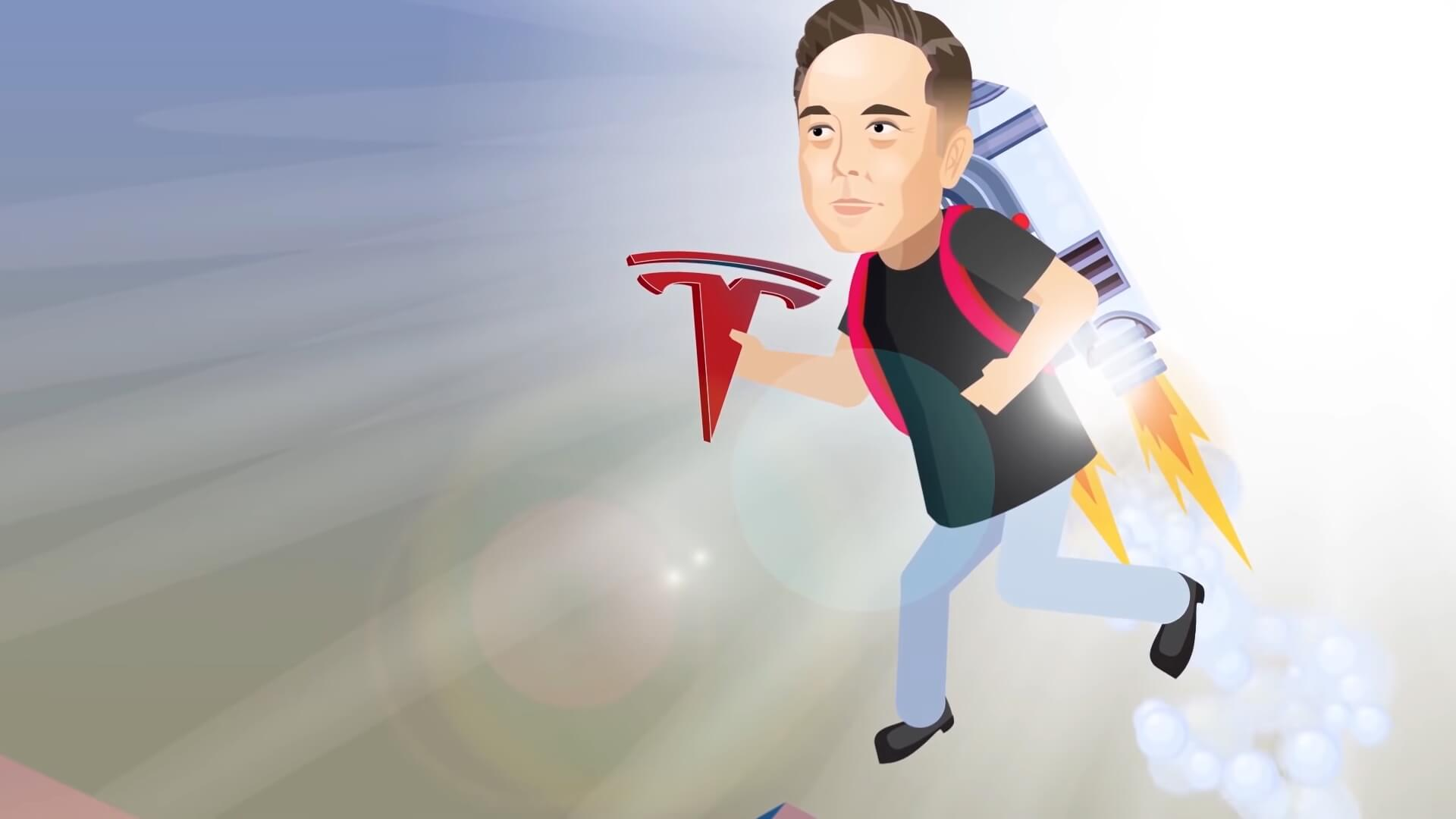 Илон Маск присоединился к Tesla Motors в2008 году вкачестве инвестора ивозглавил компанию
