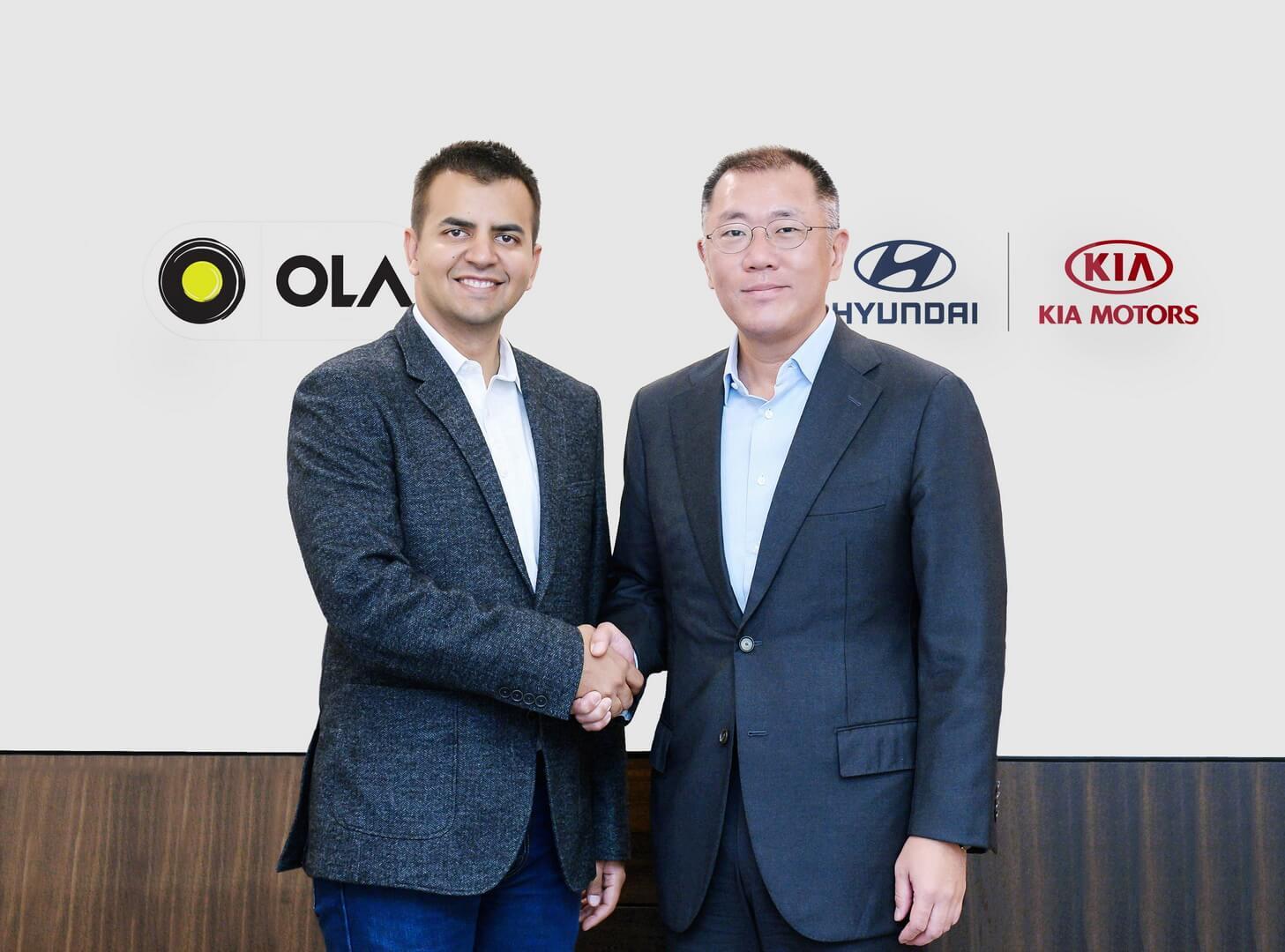 Hyundai иKia инвестировали $300 млн виндийского конкурента Uber