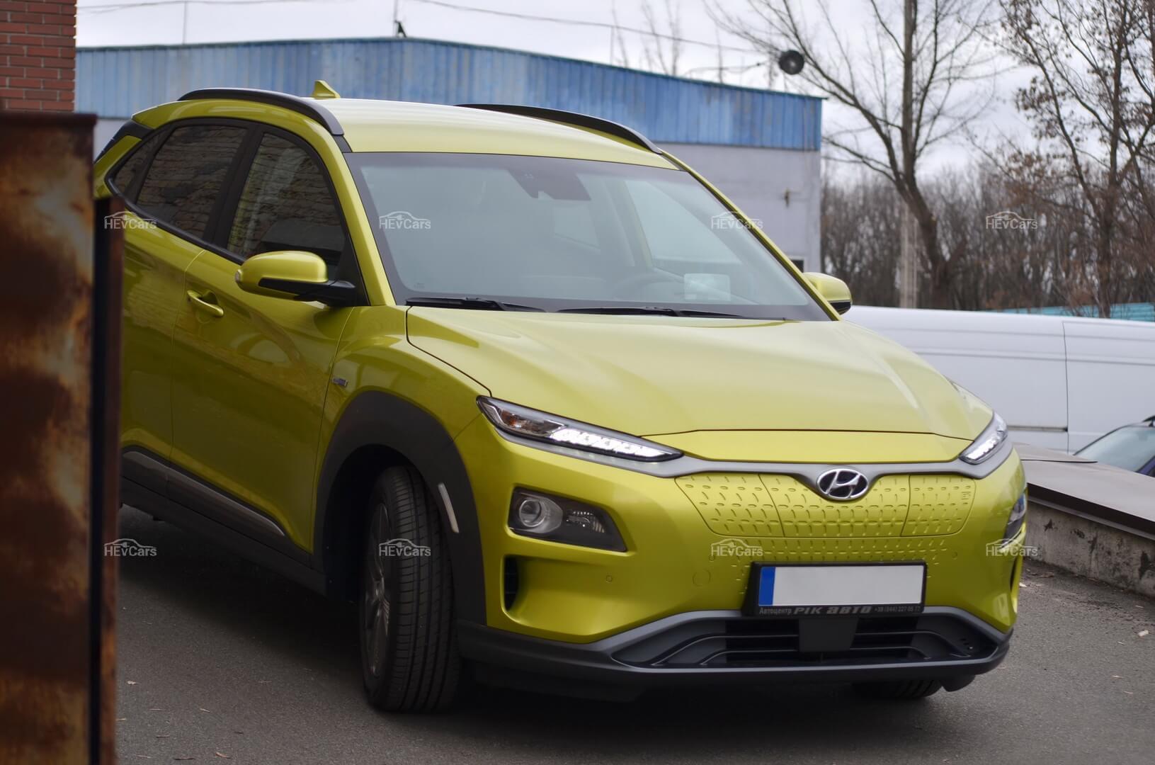 Яркий и эмоциональный Hyundai Kona EV