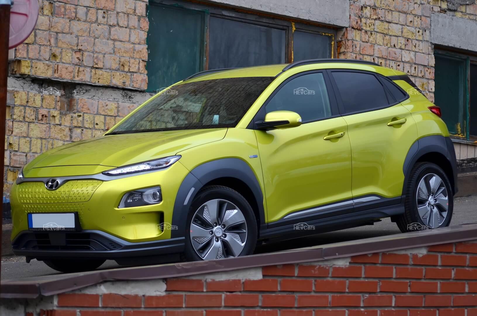 Hyundai Kona Electric на обзоре