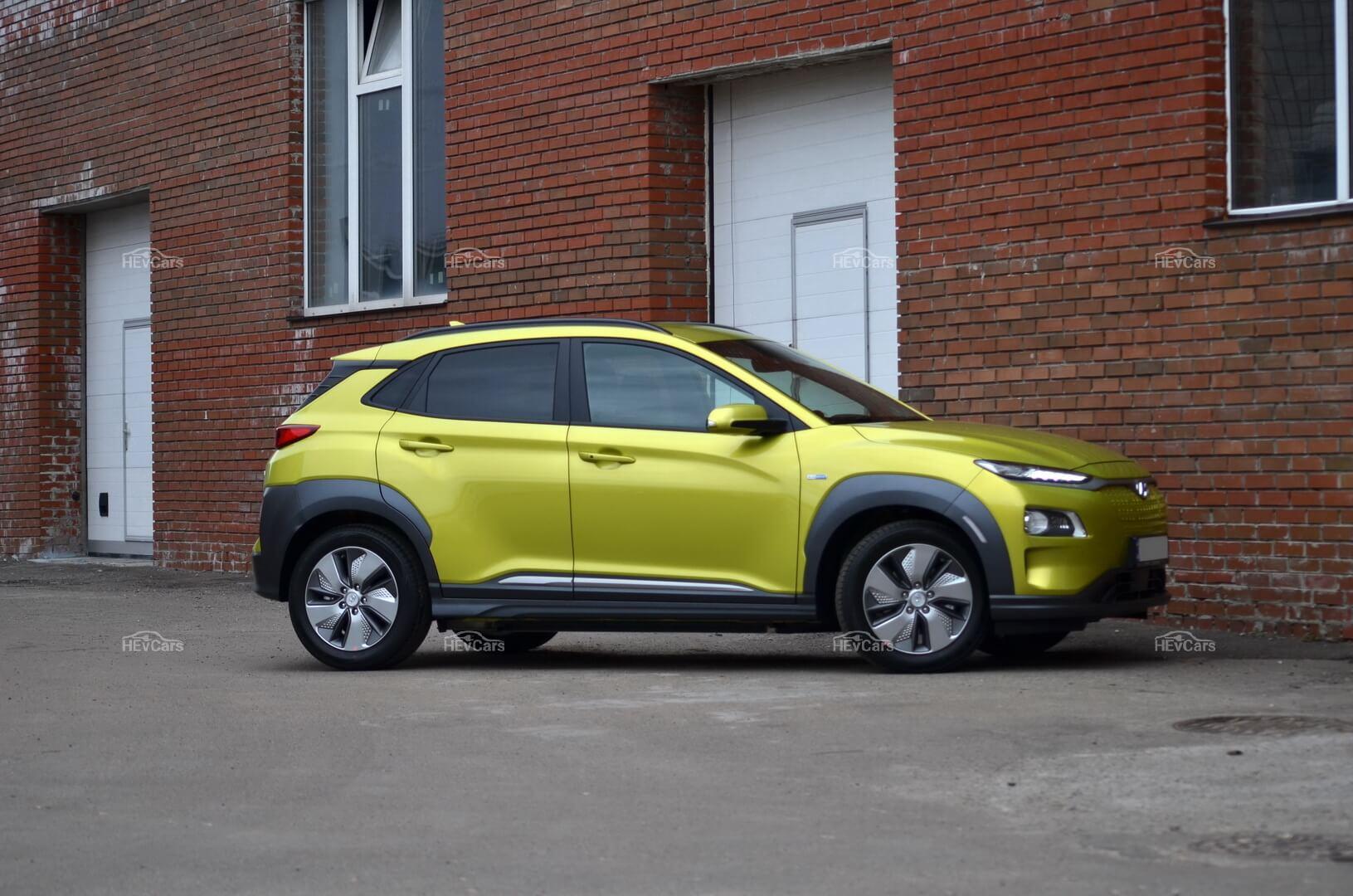 В Украине открыт предзаказ на электрокроссовер Hyundai Kona Electric
