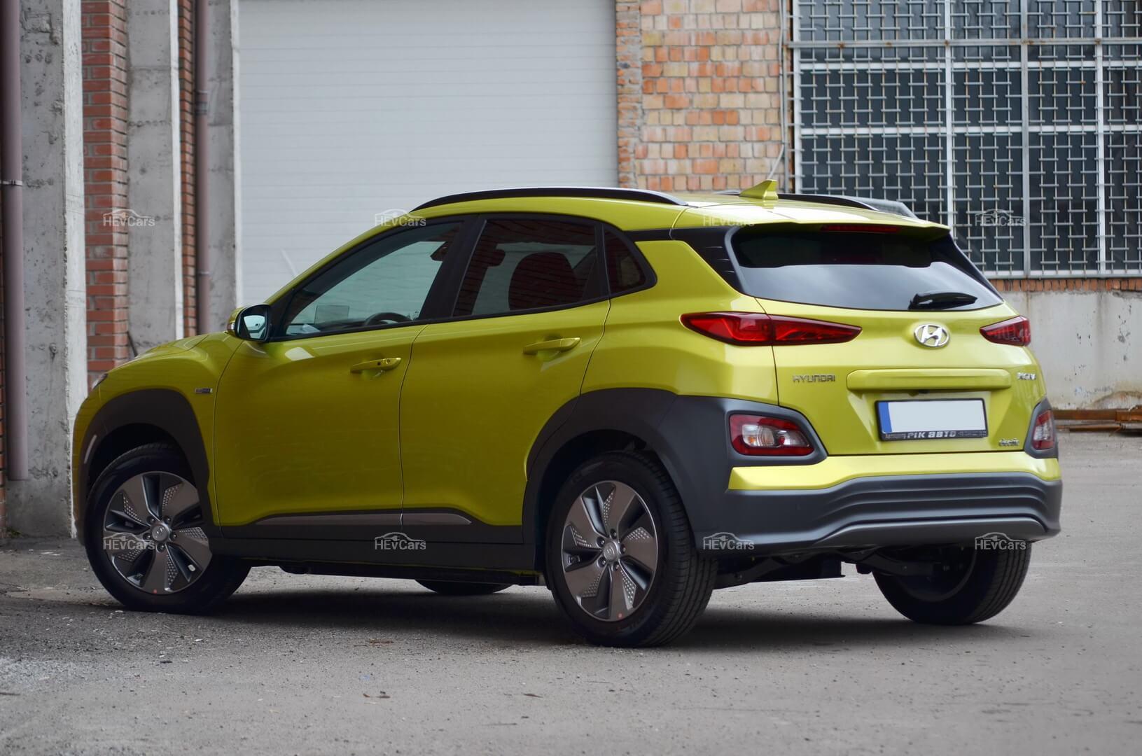 Чистый «европеец» Hyundai Kona Electric на обзоре