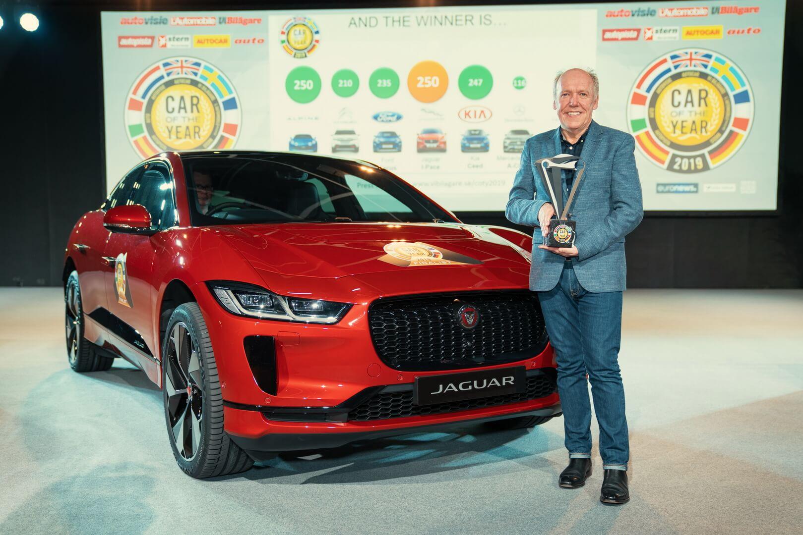 Jaguar I-Pace признан лучшим европейским автомобилем 2019 года