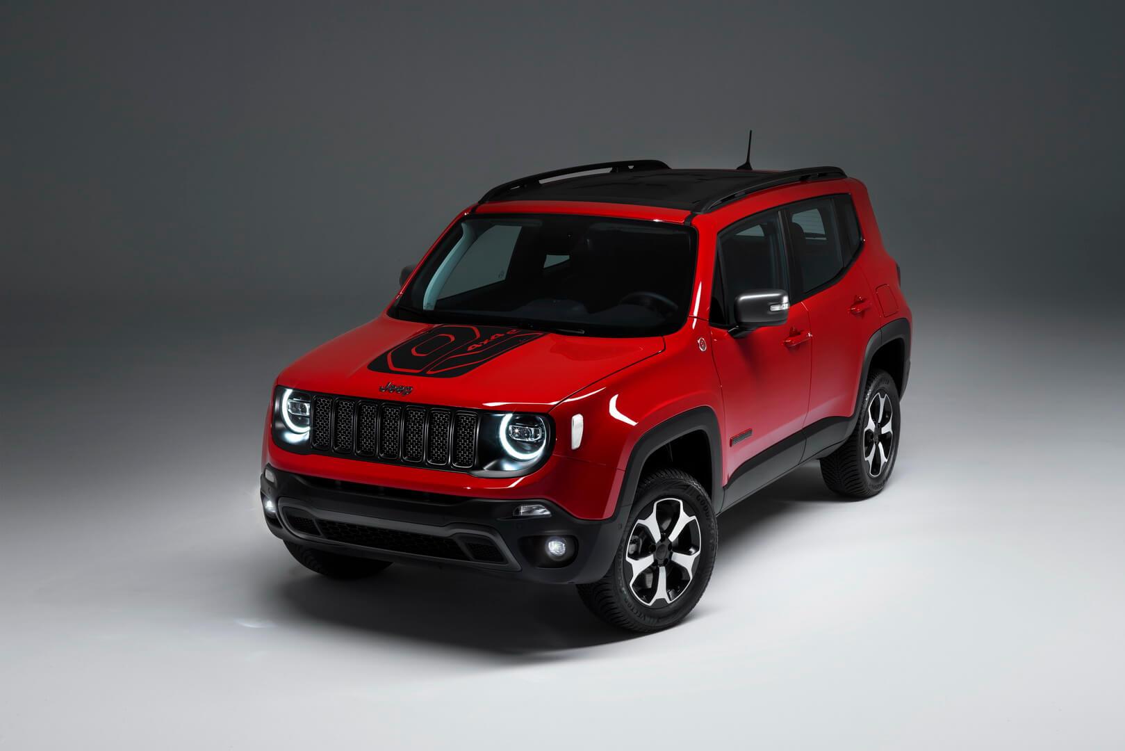 Фотография экоавто Jeep Renegade 4xe - фото 2