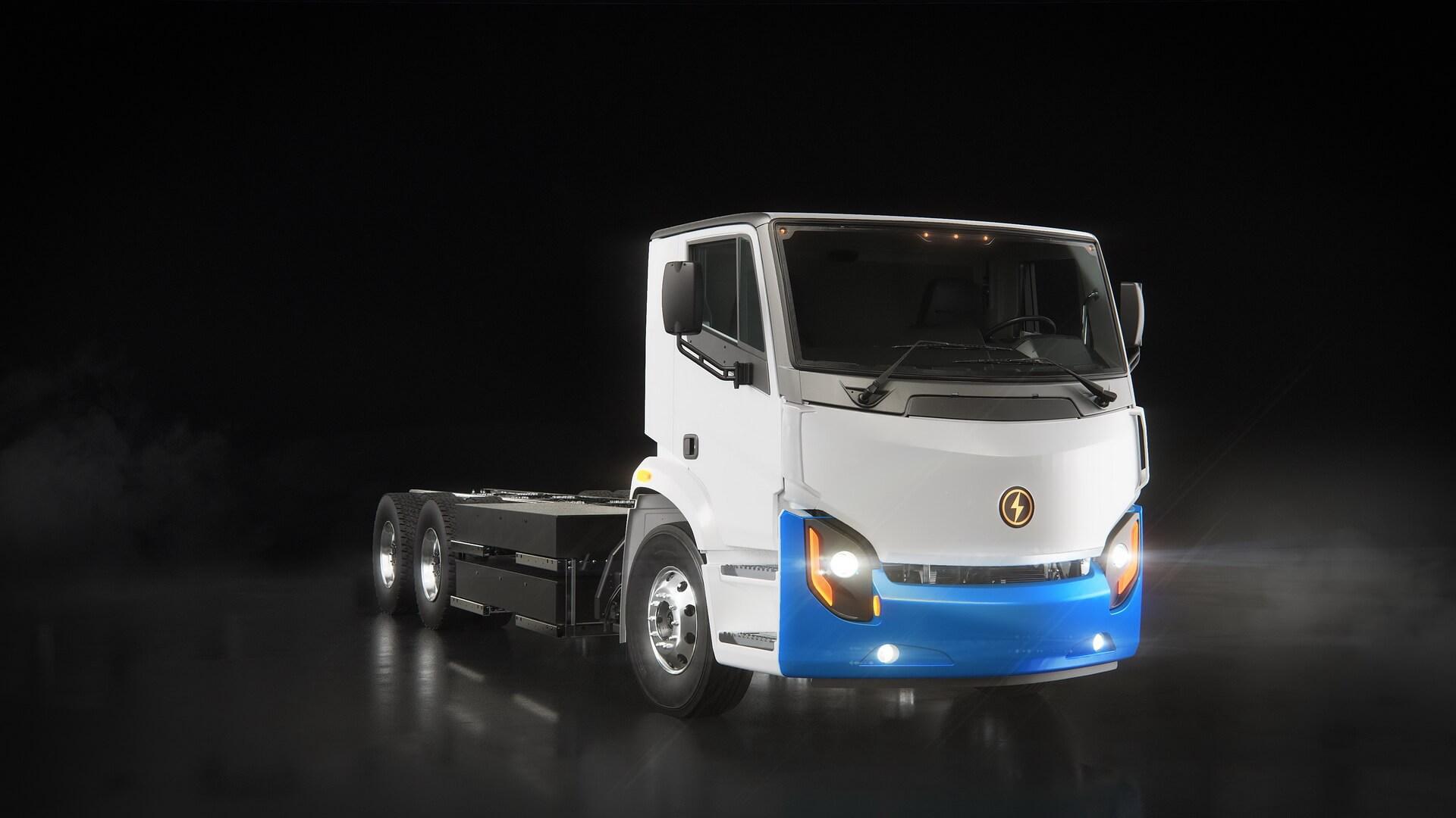 Электрический городской грузовик Lion8