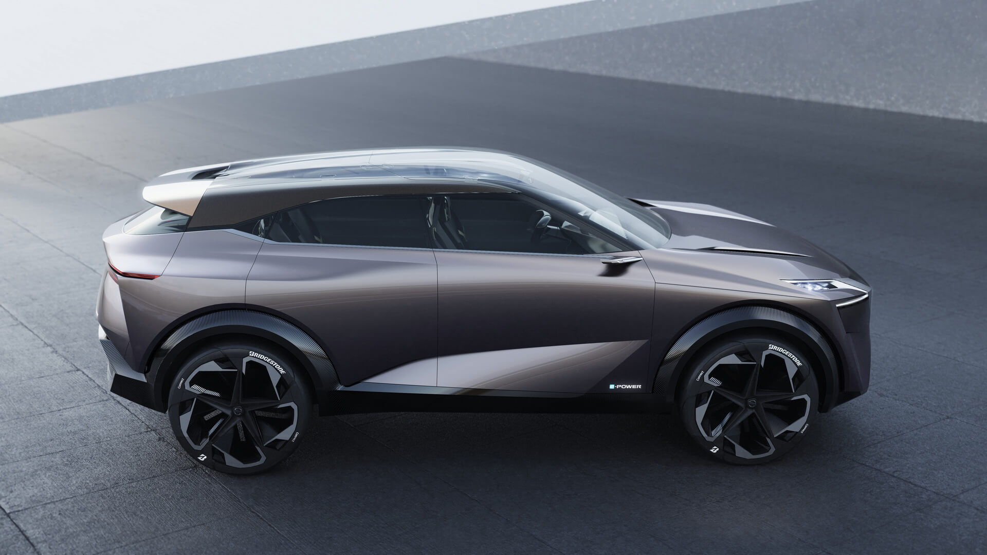 Концепт гибрида Nissan IMQ