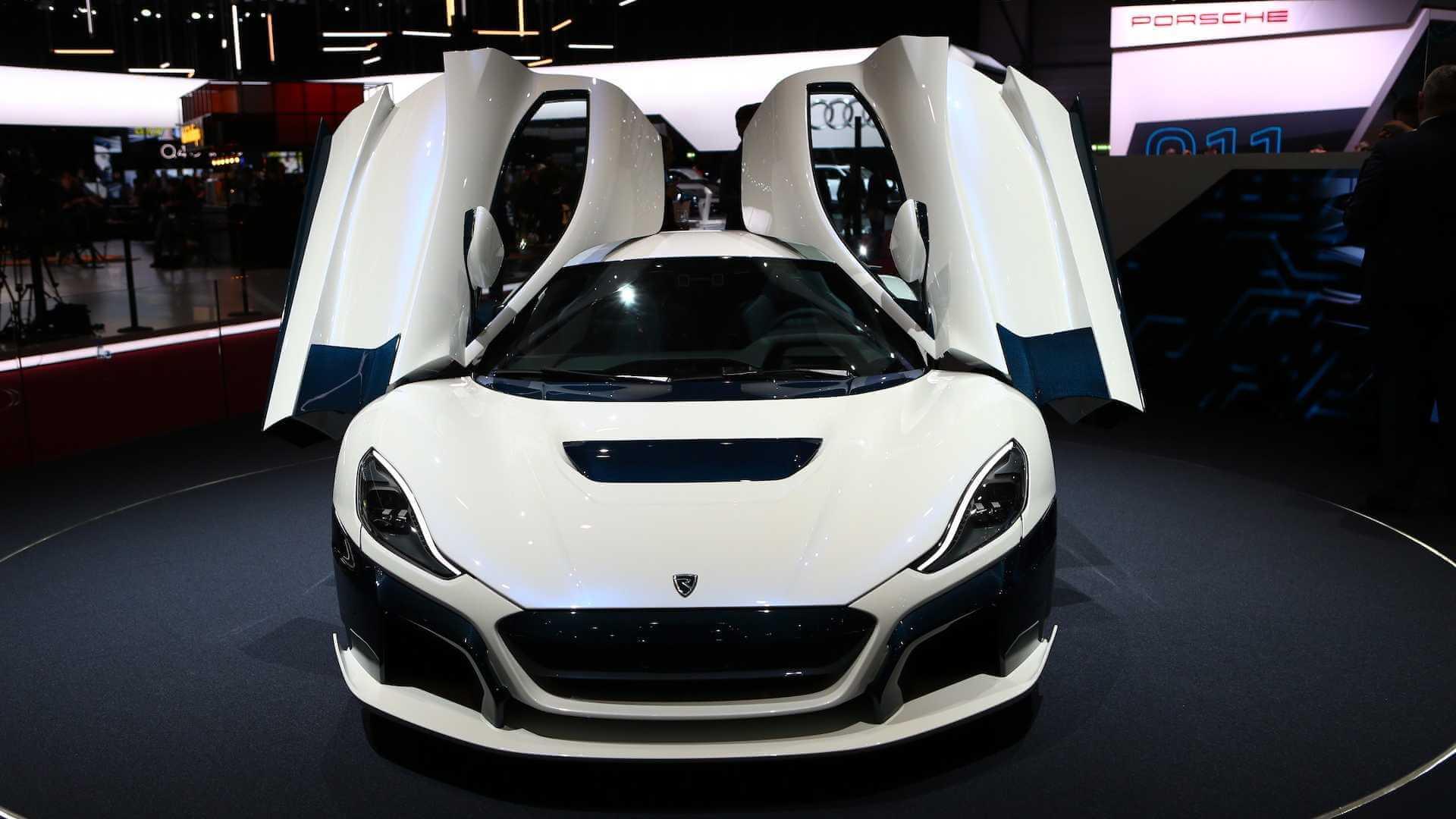 Электрический суперкар Rimac C_Two на Женевском автосалоне 2019