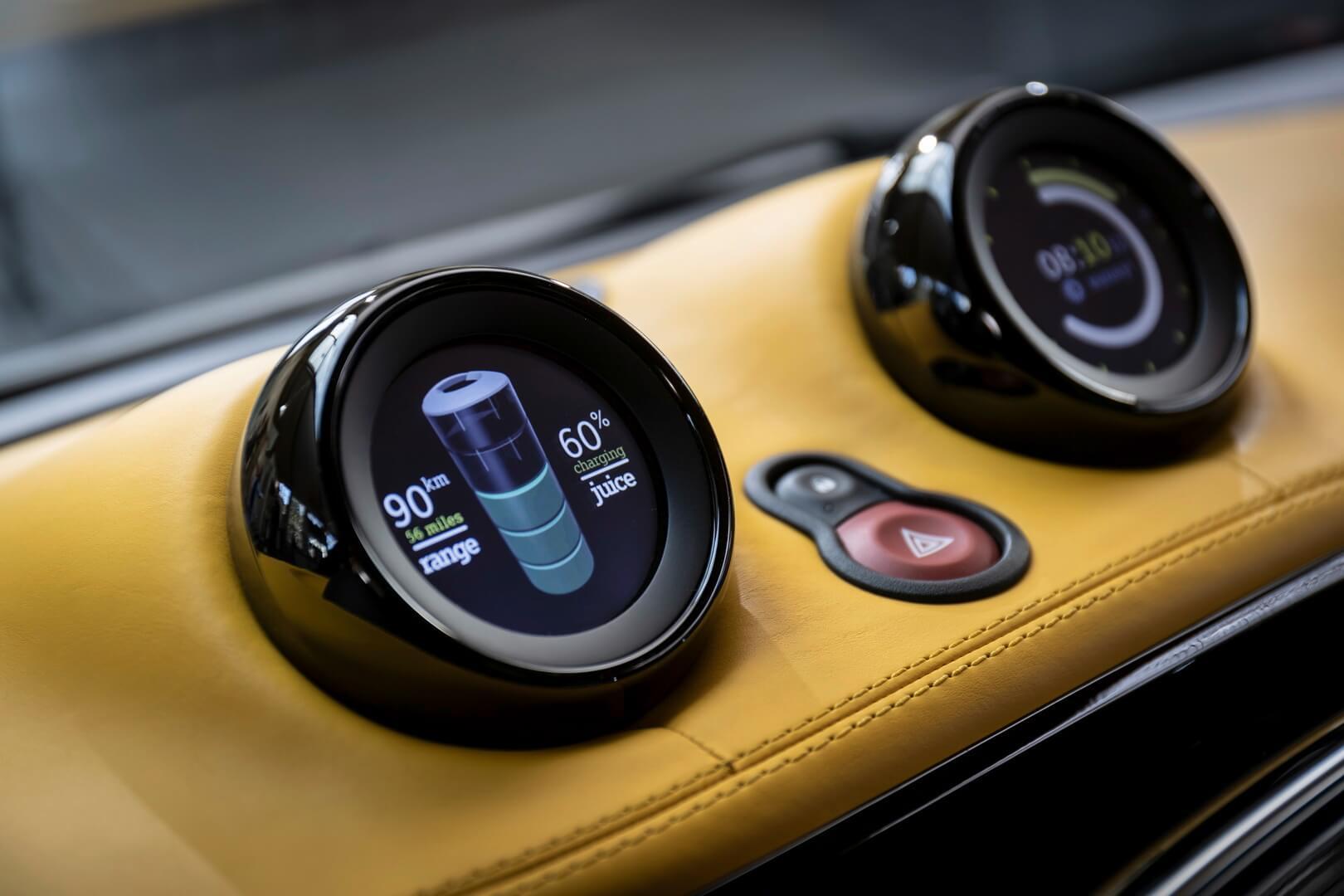 Индикатор заряда электромобиля Smart Forease +