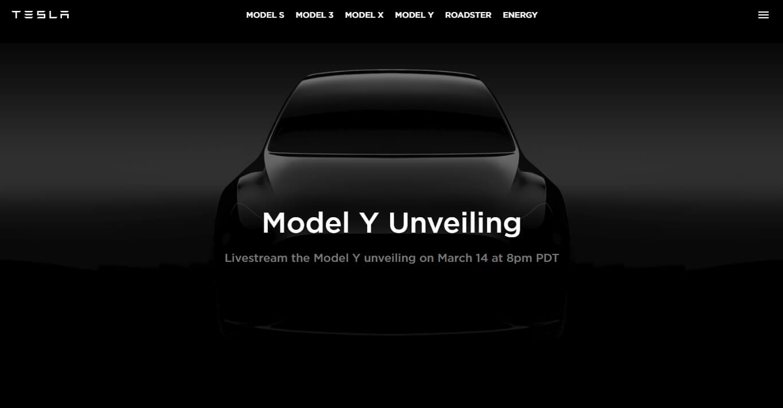 Tesla добавила страницу Model Yнасвой веб-сайт