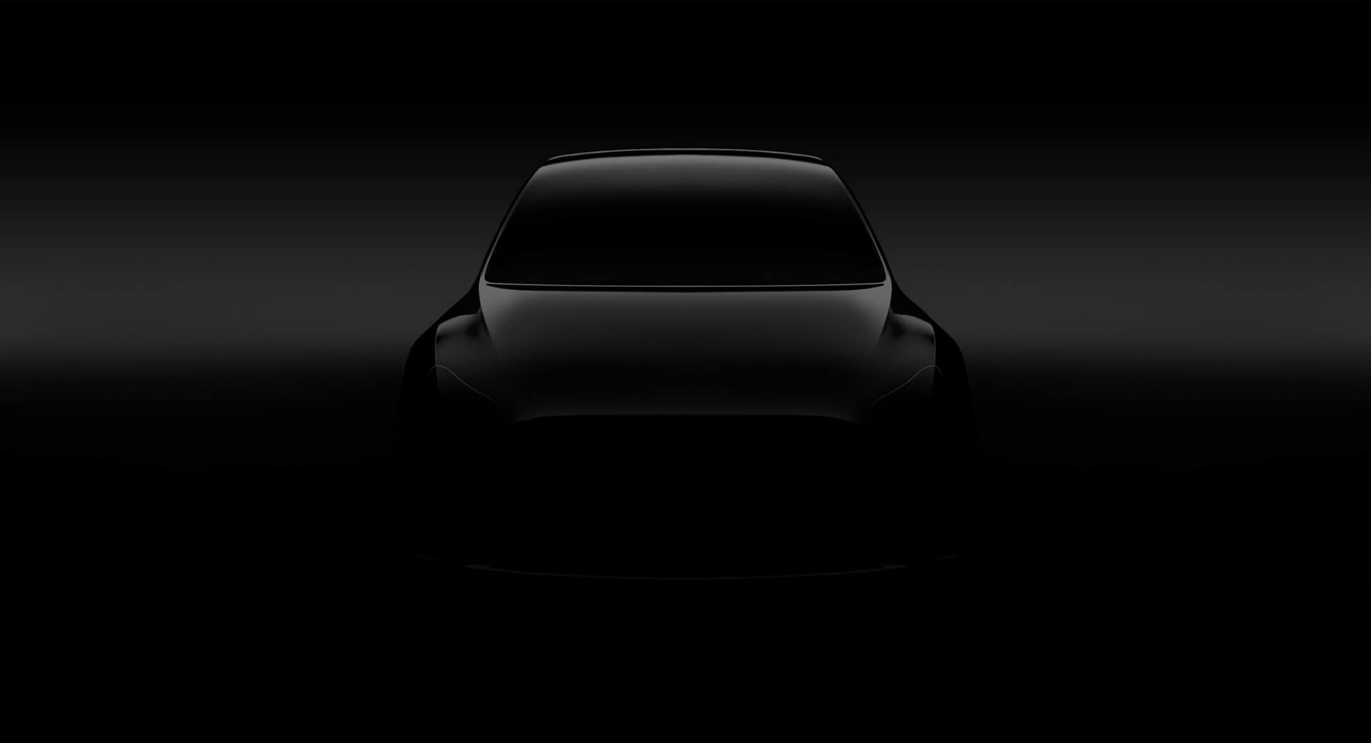 Tesla выпускает новый тизер Model Yперед презентацией