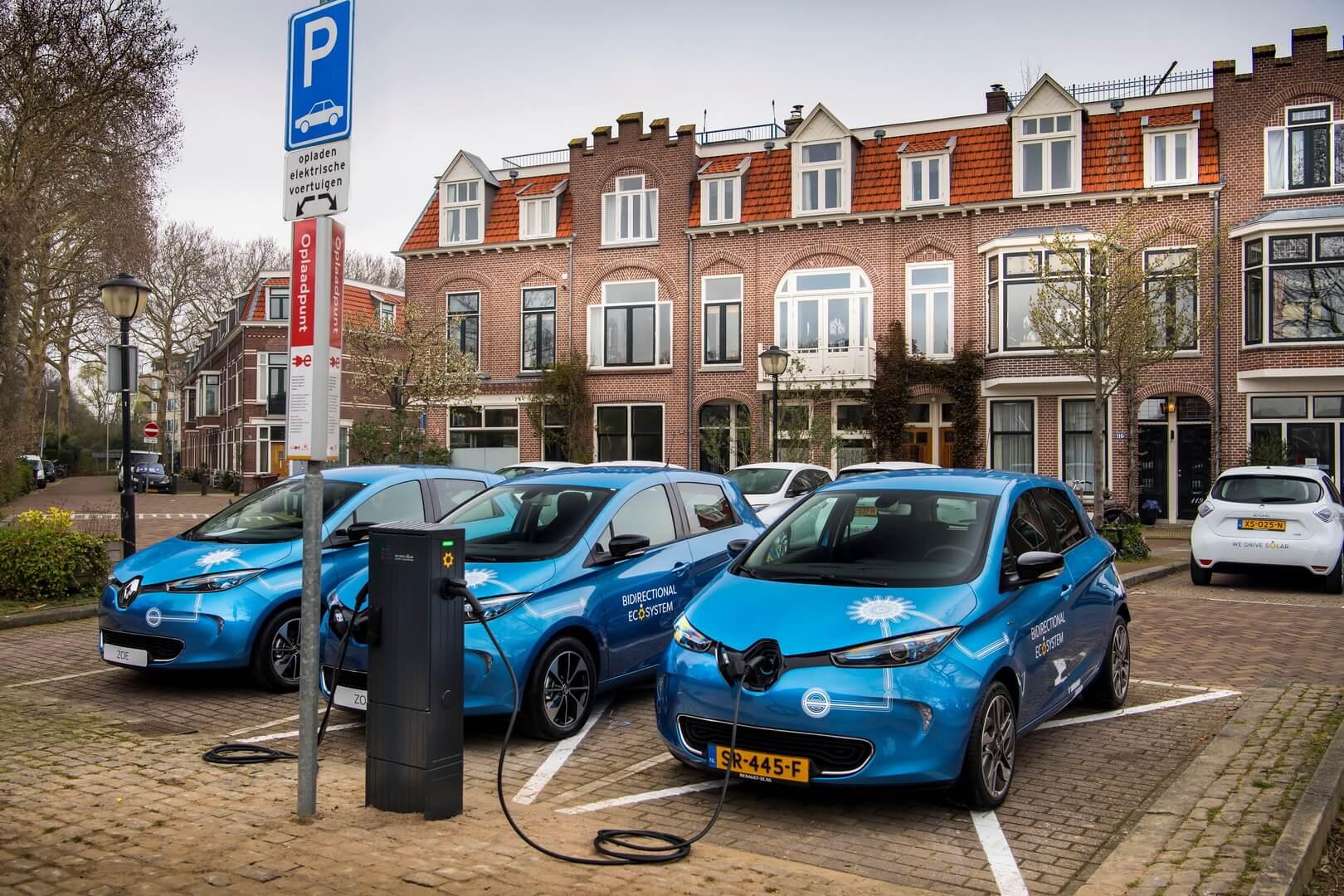 Renault начинает испытания двунаправленной зарядки V2GвНидерландах