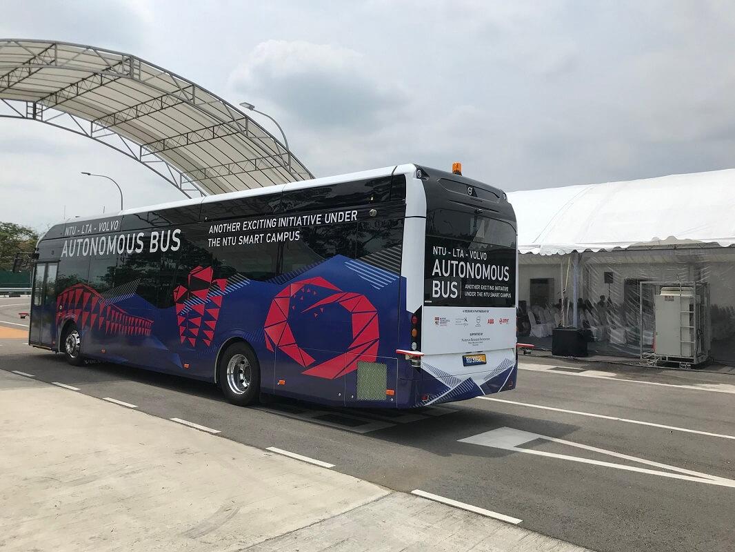 Volvo 7900 Electric: первый полноразмерный автономный электробус