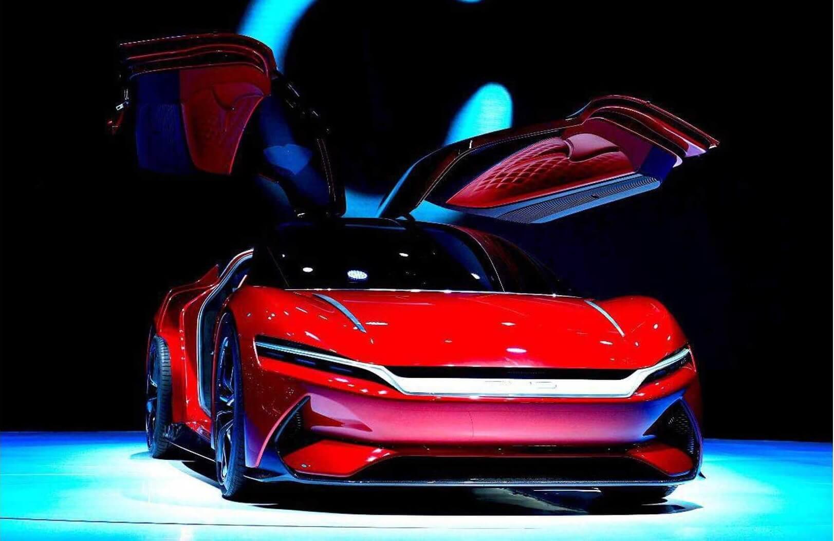 BYD представил электрический суперкар E-SEED GT