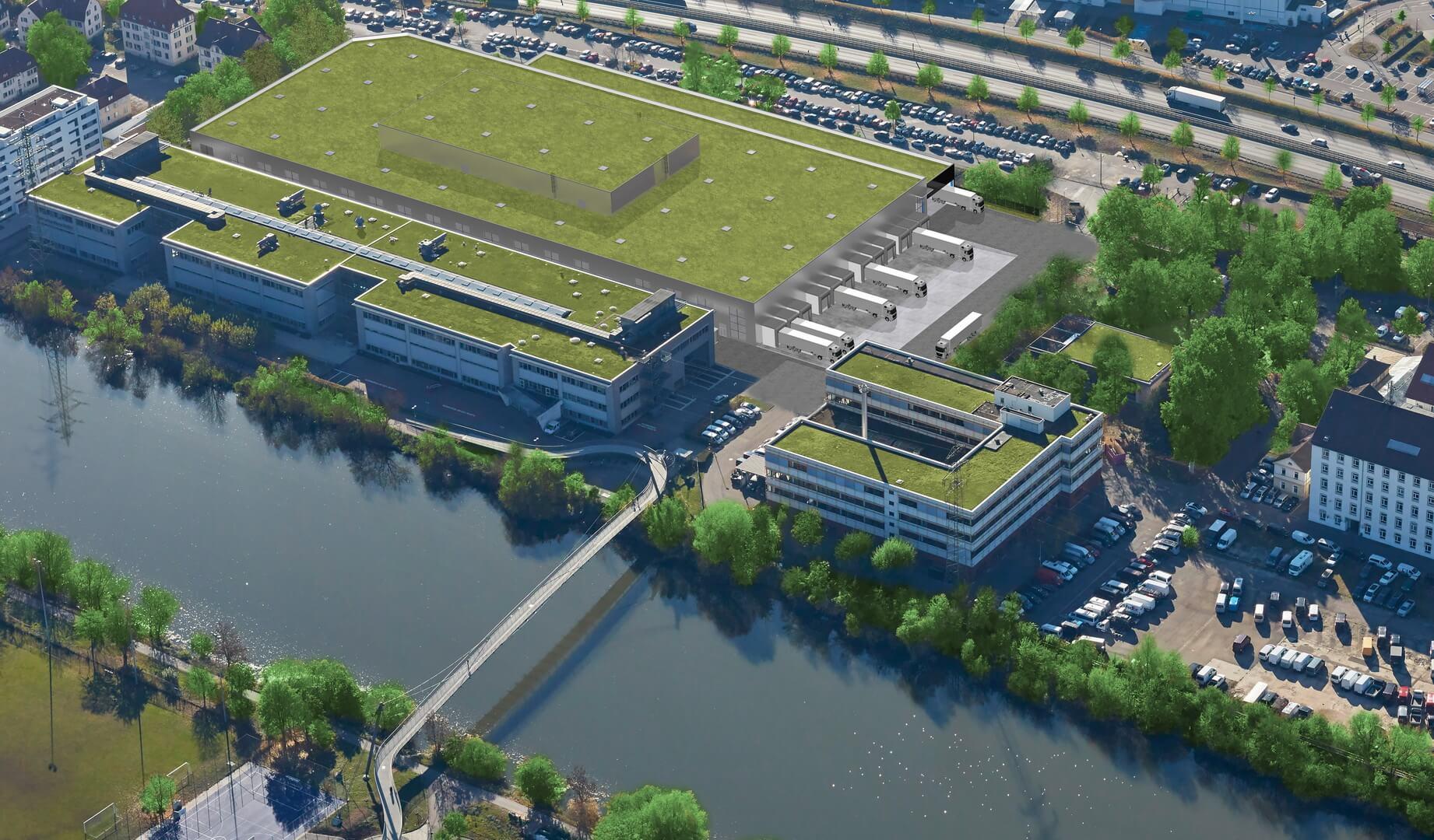 Mercedes-Benz начинает строительство завода по производству аккумуляторов в Унтертюркхайме (Штутгарт)
