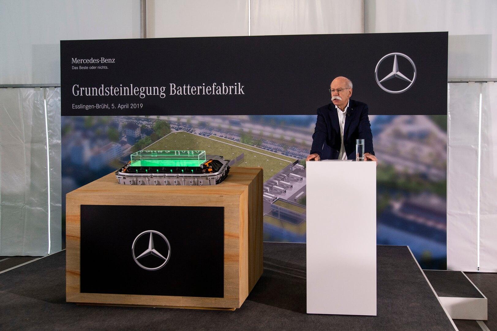 Дитер Цетше: строительство аккумуляторного завода является хорошим сигналом для устойчивости мобильности