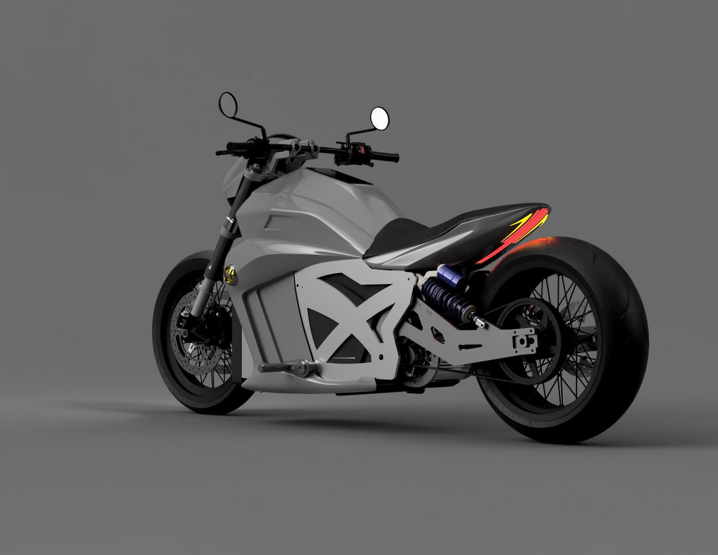 Электромотоцикл Evoke 6061