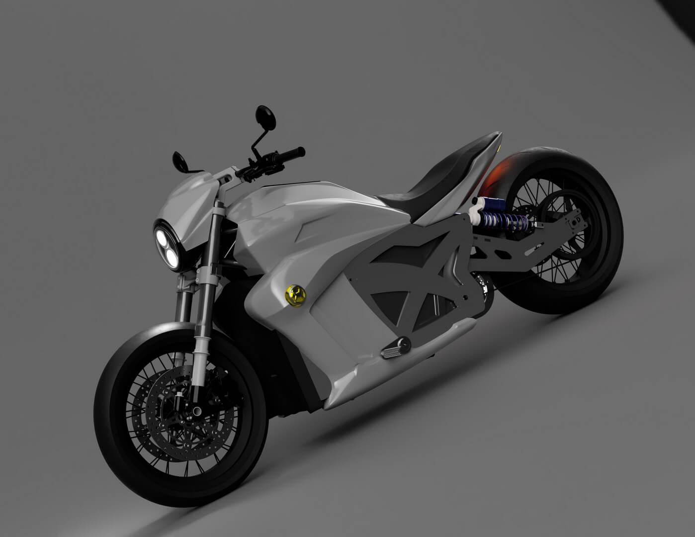 Электрический мотоцикл Evoke 6061