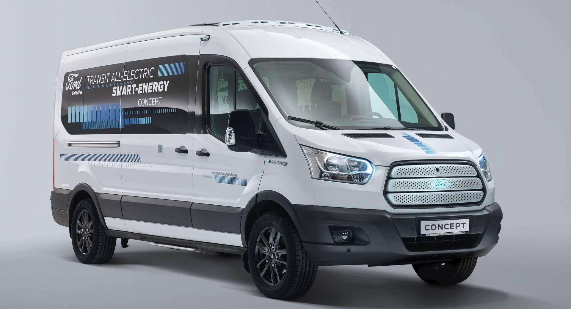 Ford Transit Smart Energy - самый энергоэффективный микроавтобус