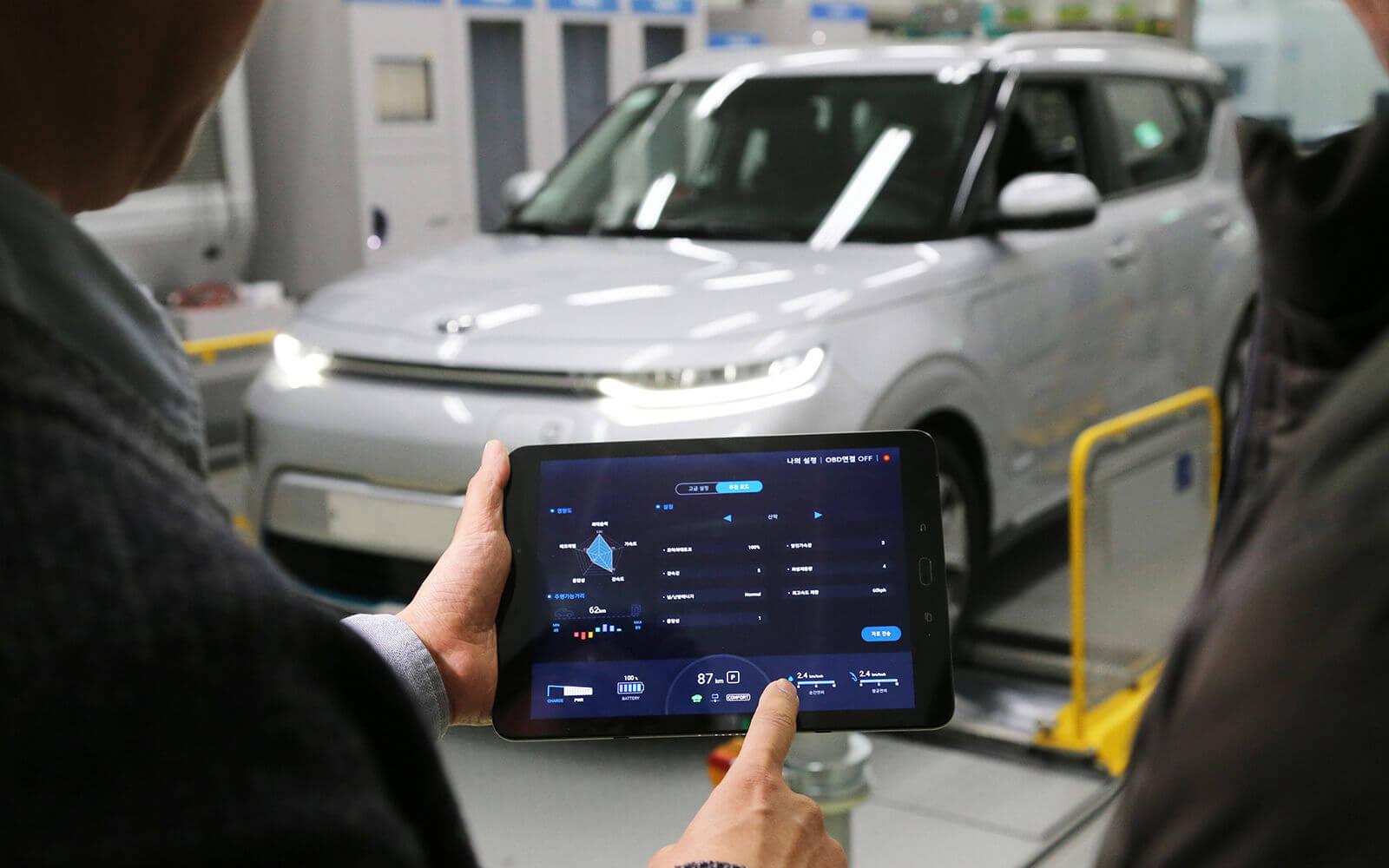 Hyundai выпустила приложение для настройки производительности электрокаров