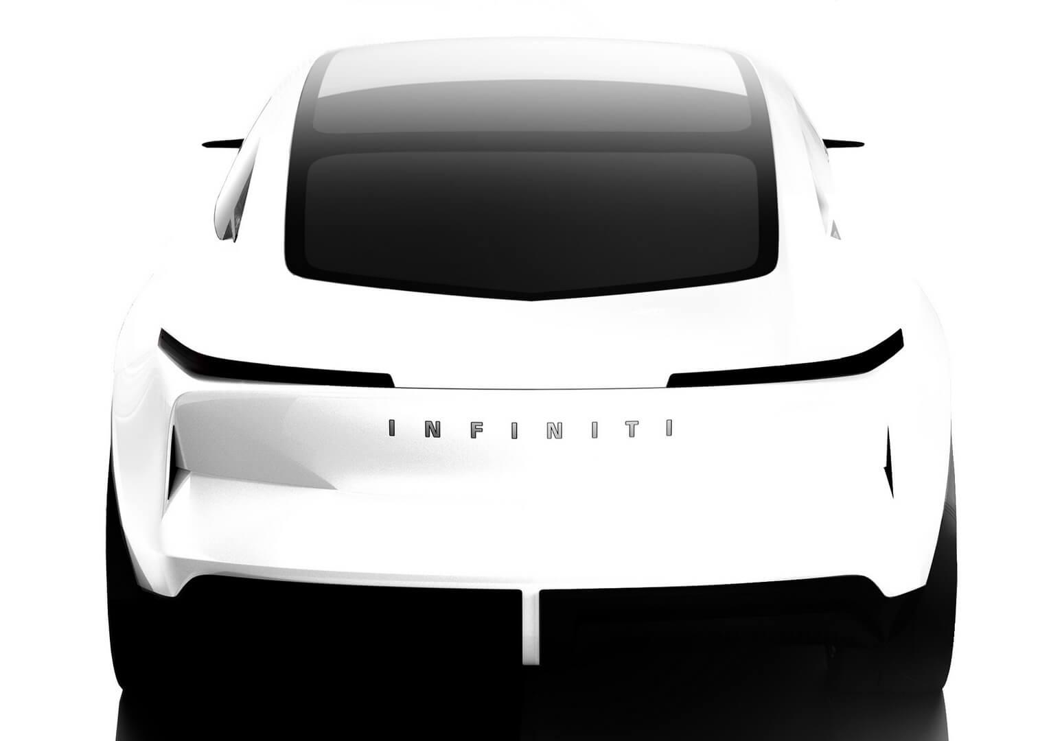 Infiniti представила концепт электрического спортивного седана QsInspiration