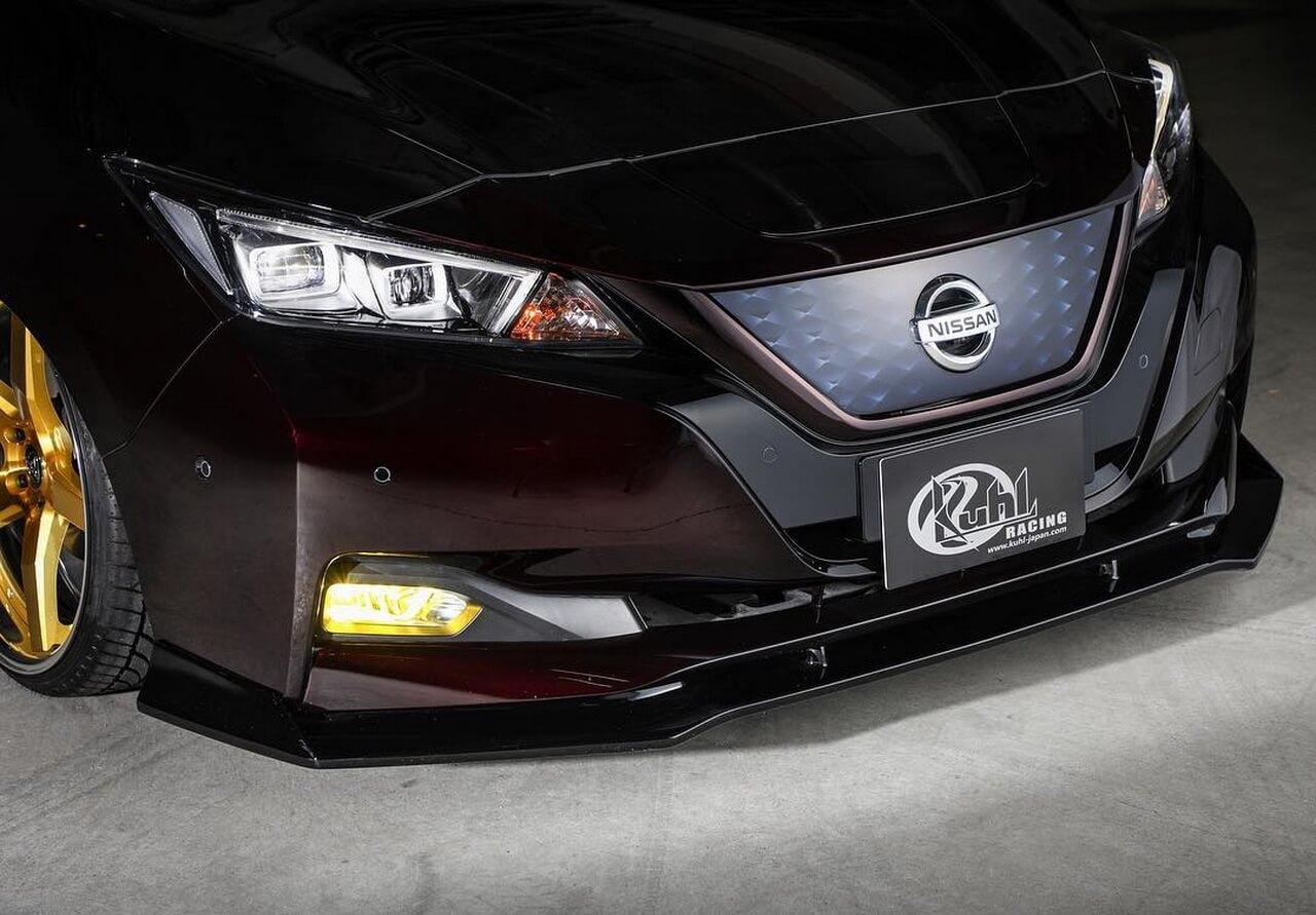 Тюнингованный Nissan Leaf 2018