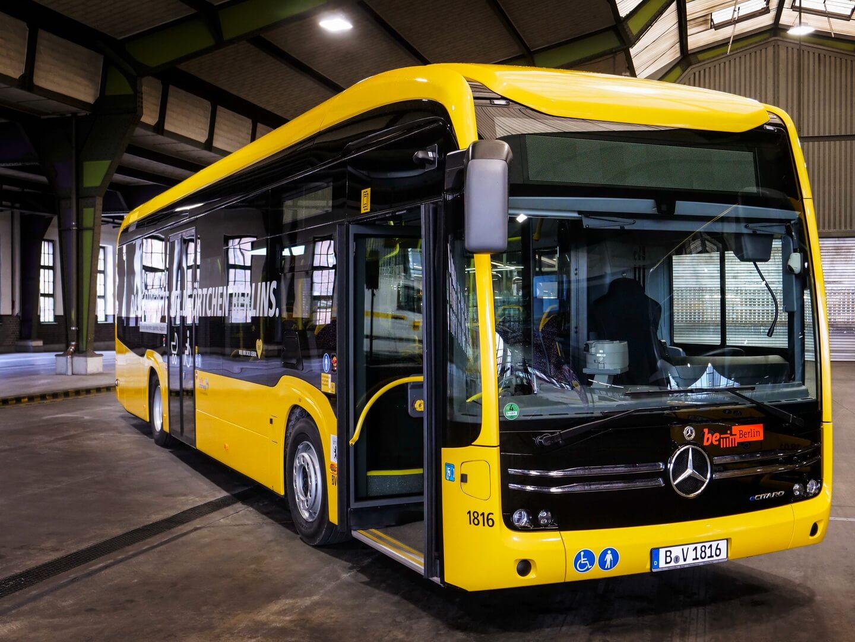 Электробус Mercedes-Benz eCitaro