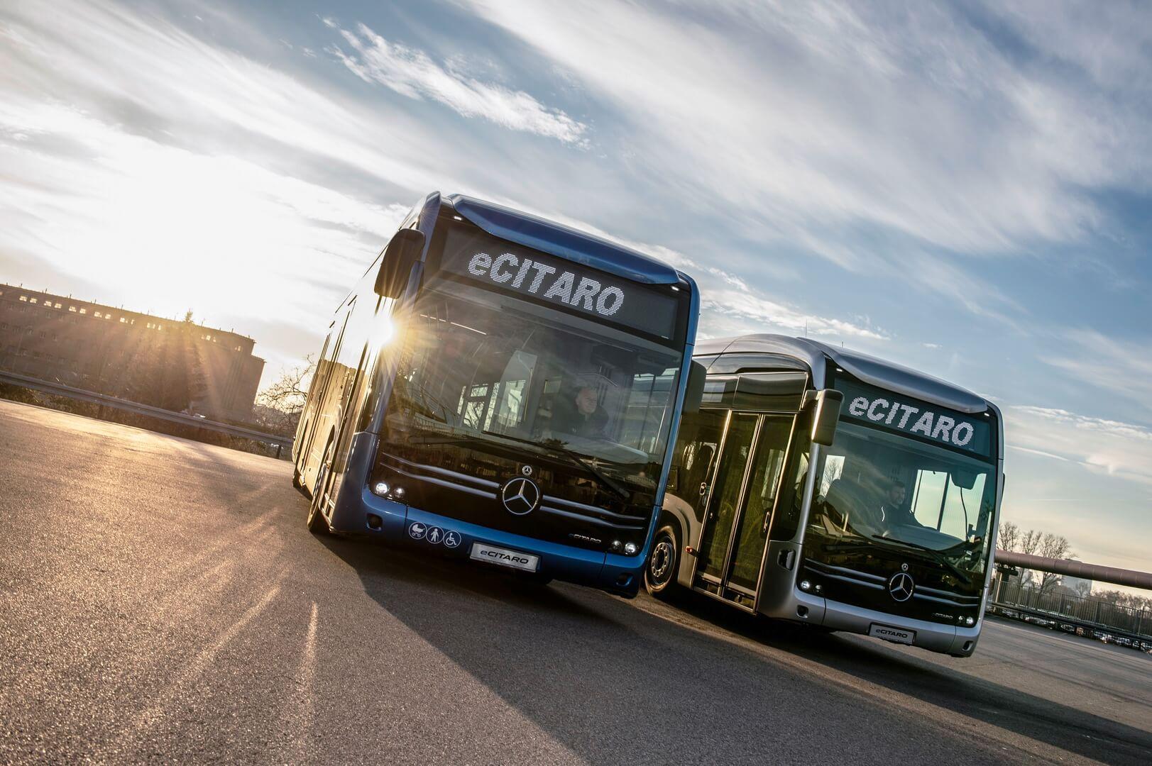 Электрические автобусы Mercedes-Benz eCitaro