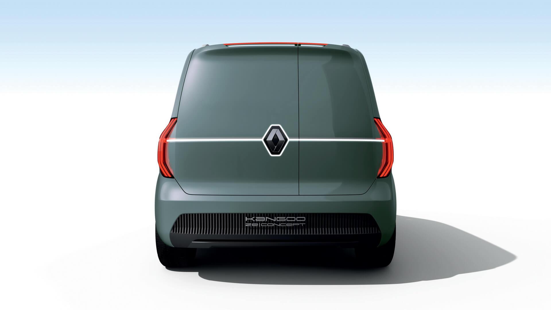 Renault Kangoo Z.E. 2020 - вид сзади